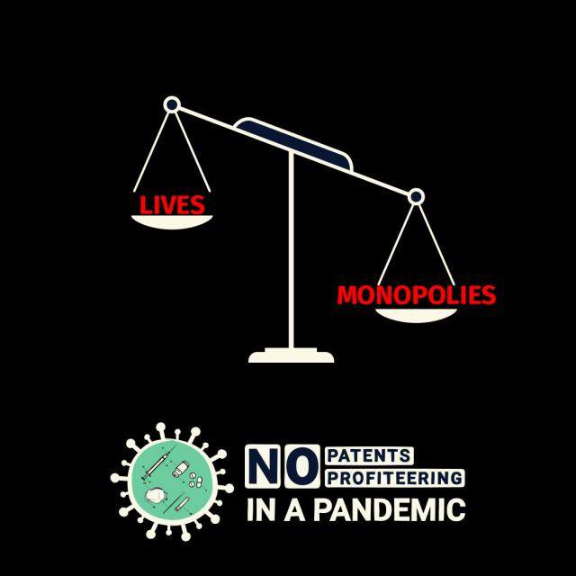 Patentmonopole oder Leben?